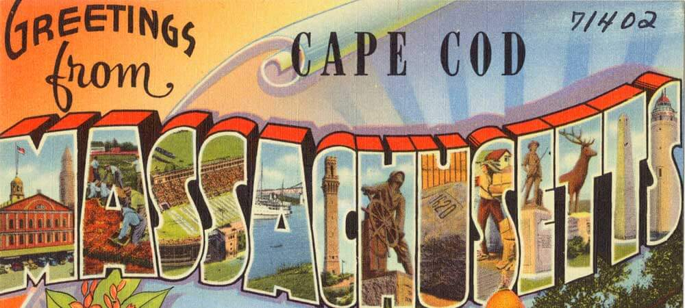 Postcard from Cape Cod, Massachusetts