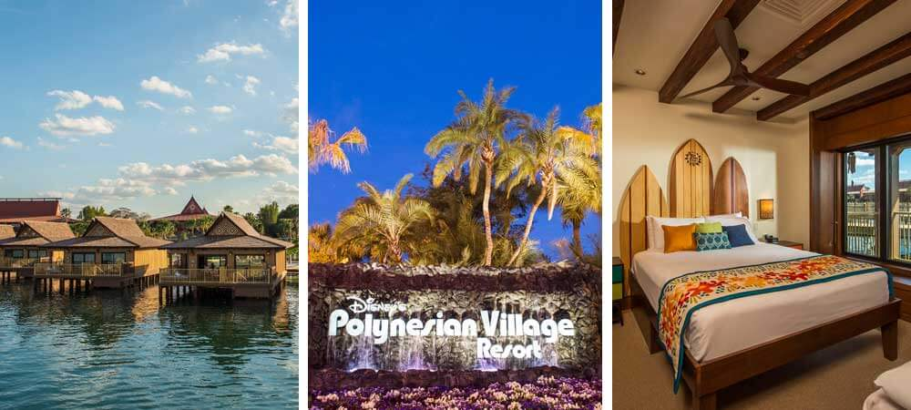 Where to stay on a Moana themed Disney World vacation: Disney's Polynesian Village Resort