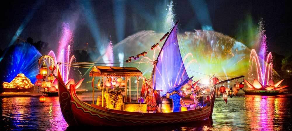 Rivers of Light night show at Animal Kingdom