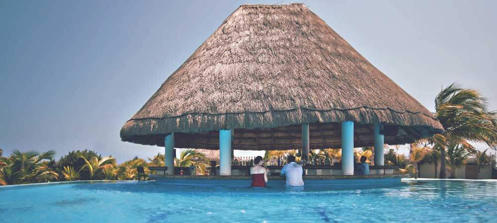 Relax at some of the most beautiful resorts in the world, right in Mexico.