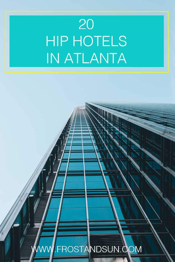 No matter what your budget, find a sweet hotel, motel or bed & breakfast in Atlanta, Georgia.