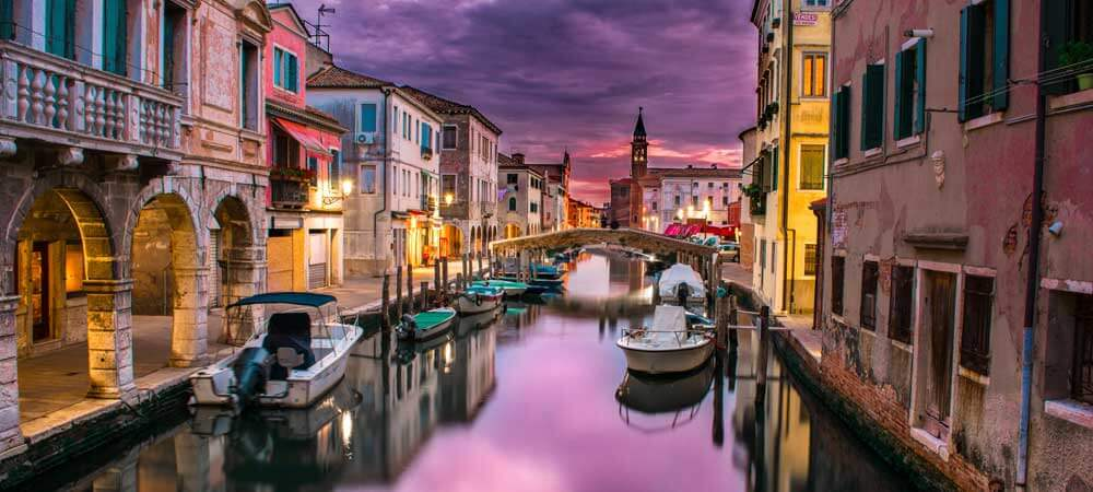 Interested in the impact of climate change? Study abroad in Venice, Italy, where you can learn about the impact it has first hand.