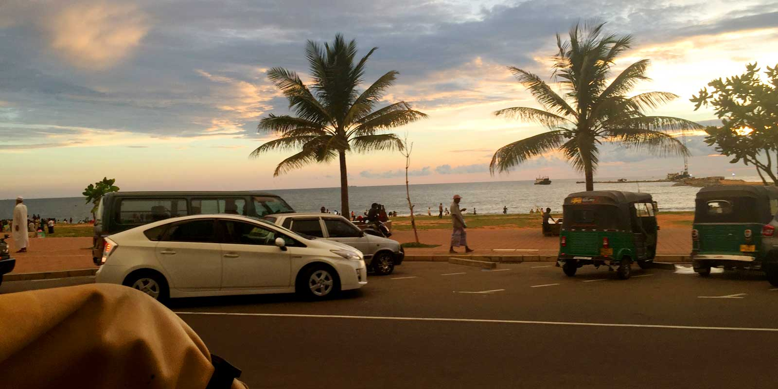 Hire a private car or summon an Uber in Sri Lanka. Or how about an open air tuk tuk? Come on over to this post to learn about how you can get around in Sri Lanka without renting a car.