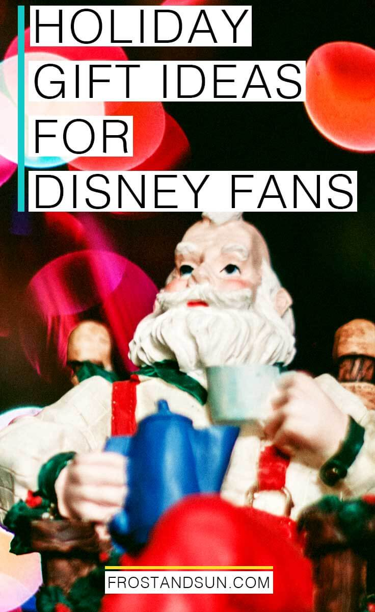 Hanukah and Christmas gift ideas for Disney fans. Also great ideas for Disneyland or Disney World vacation surprise reveals around the Winter holiday season!