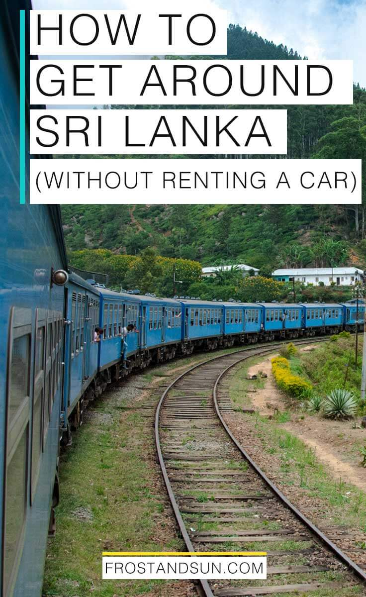 Traffic in Sri Lanka is nuts and renting a car is also a big hassle. Come check out the different modes of transportation in Sri Lanka. They\'re super affordable!