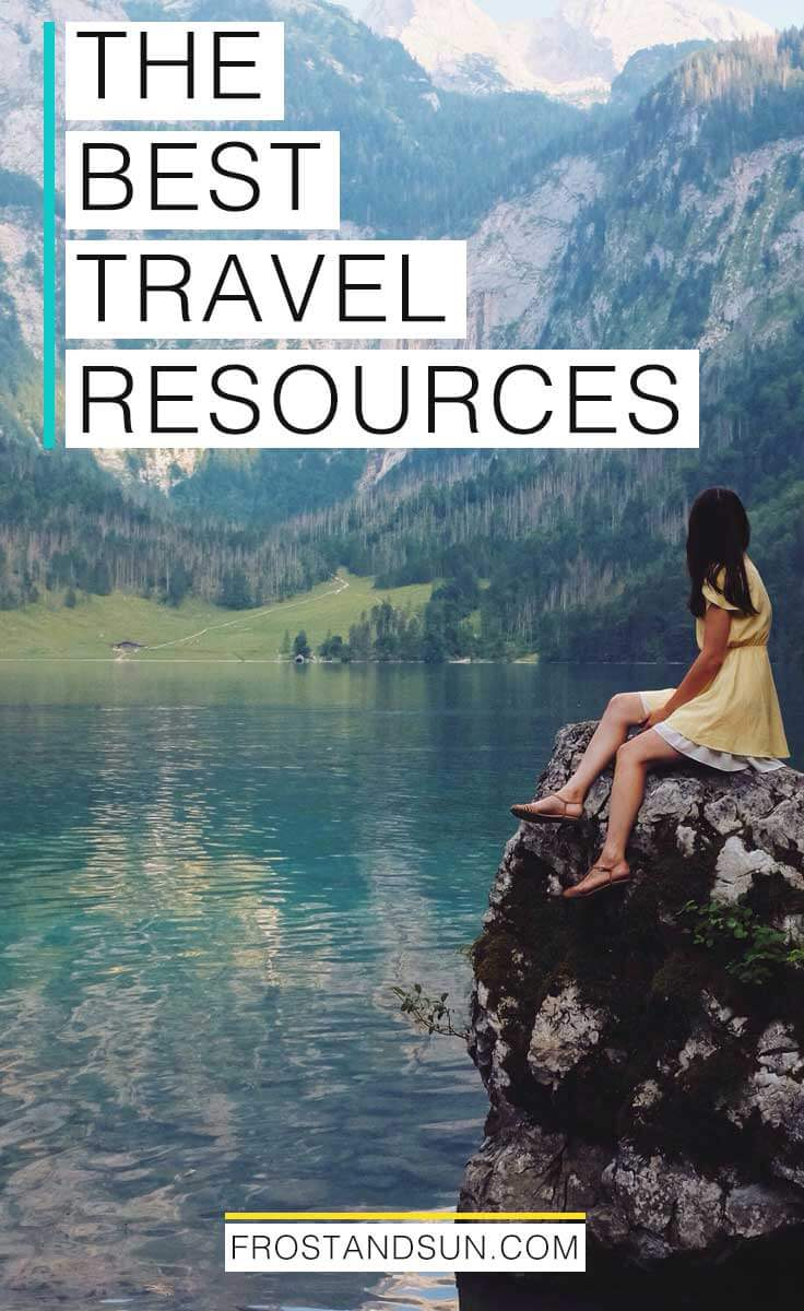 Learn about my favorite travel resources and tips on luggage, travel accessories, booking sites, travel blogging tools, and more. #travelresources #travelaccessories #travelblogger