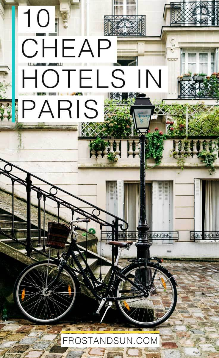 Cheap hotels and hostels in Paris, France don't mean you have to sacrifice style or safety! These 10 hotels and hostels offer hip surroundings and a variety of room options (yes, that means private rooms!) for under $100/night base rate.