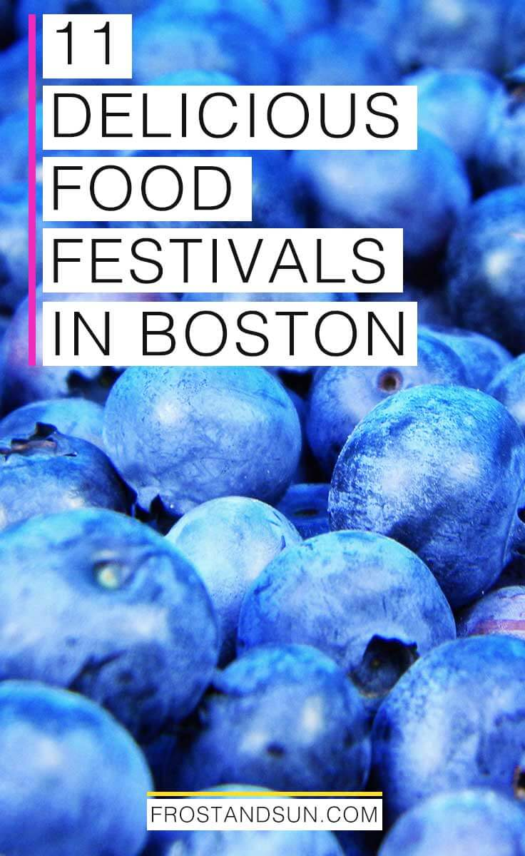 From local seafood and an Italian Catholic street fest to all-you-can-eat ice cream and marshmallow Fluff, check out these 11 delicious Boston food festivals. #foodfestivals #boston