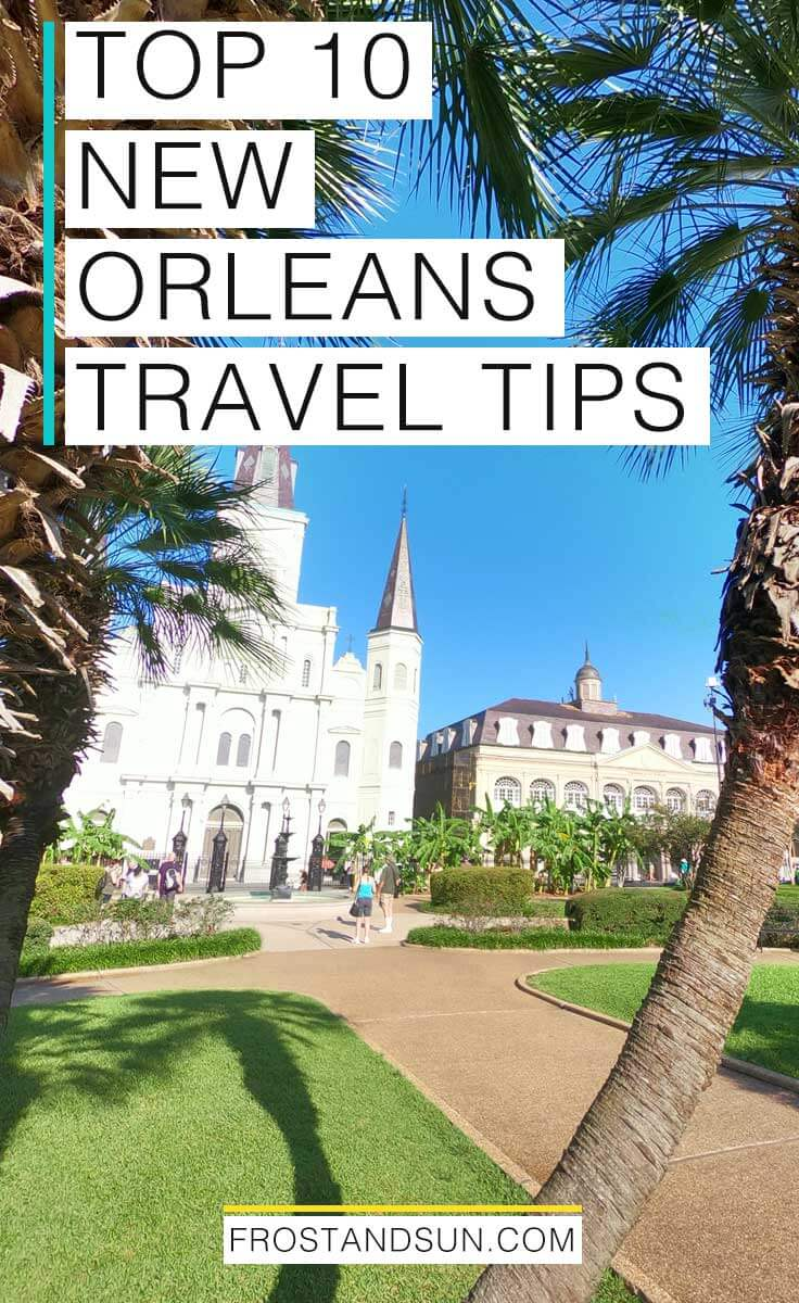 New Orleans is one of my favorite cities in the US! Check out my top 10 travel tips for planning a trip to New Orleans, Louisiana. #neworleans #nola