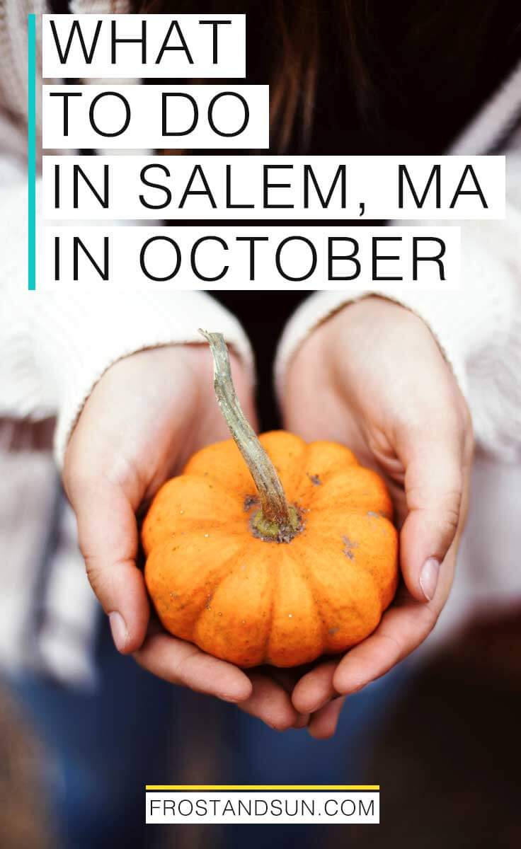 Celebrate Fall with a weekend trip to the New England coastal town of Salem. Here are my suggestions on how to spend a Fall weekend in Salem, MA. #usatraveltips #halloween