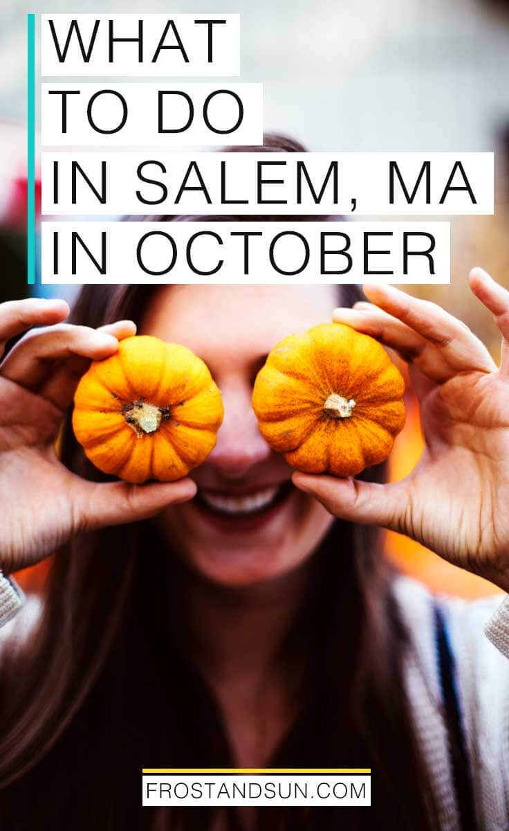 Celebrate the Autumn season with a weekend trip to the New England coastal town of Salem, MA. Salem puts on a month-long Halloween celebration in October, which is the BEST time to visit to really get a feel of this charming coastal town. Not sure how to make the most of your time in the city of witches? Check out my suggestions on how to spend an October weekend in Salem, MA.