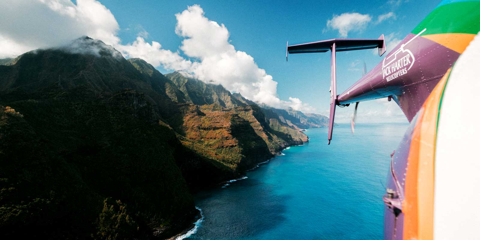 See Hawaii from above on a helicopter tour.