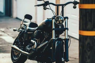 Photo of a Harley-Davidson motorcycle