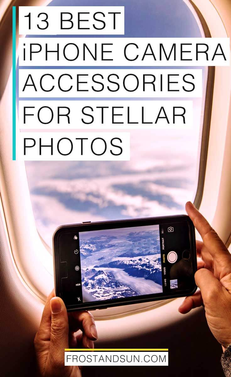 Up your iPhone photography game with these 13 fun iPhone camera accessories. #iphoneonly #travelphotography
