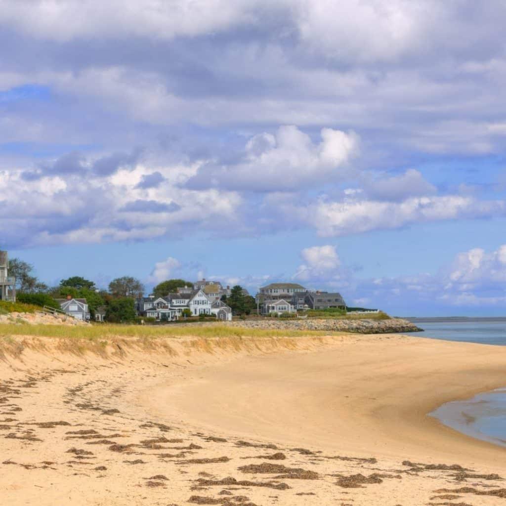 Landscape photo of Chatham Lighthouse Beach in Massachusetts