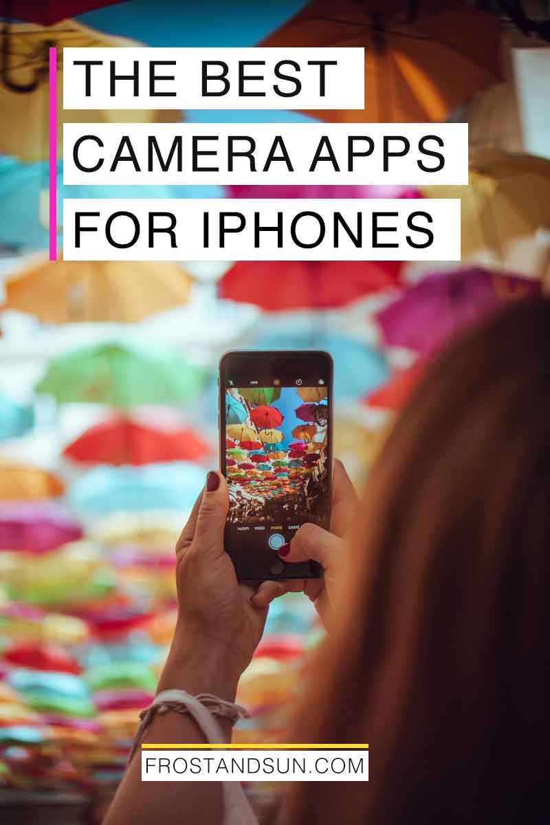 Capture your travel photos with easy with one of these amazing camera apps for iPhones. #photoapps #iphoneapps #travelapps #traveltricks #travelphotos #travelphotographytips #travelphotographyideas