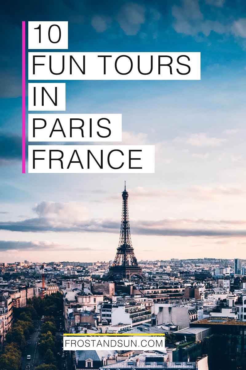 Joining a themed tour is a great way to see Paris in a unique way. Check out my 10 favorite tours in Paris, France. #paris #france #europe #paristraveltips