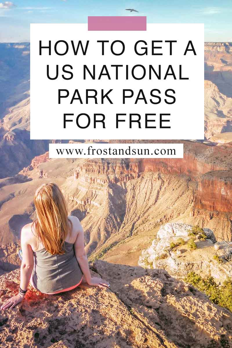 The US has some of the most beautiful natural parks and recreation areas in the world. Learn how you can visit them for FREE in this post. #nps #nationalparks #usa