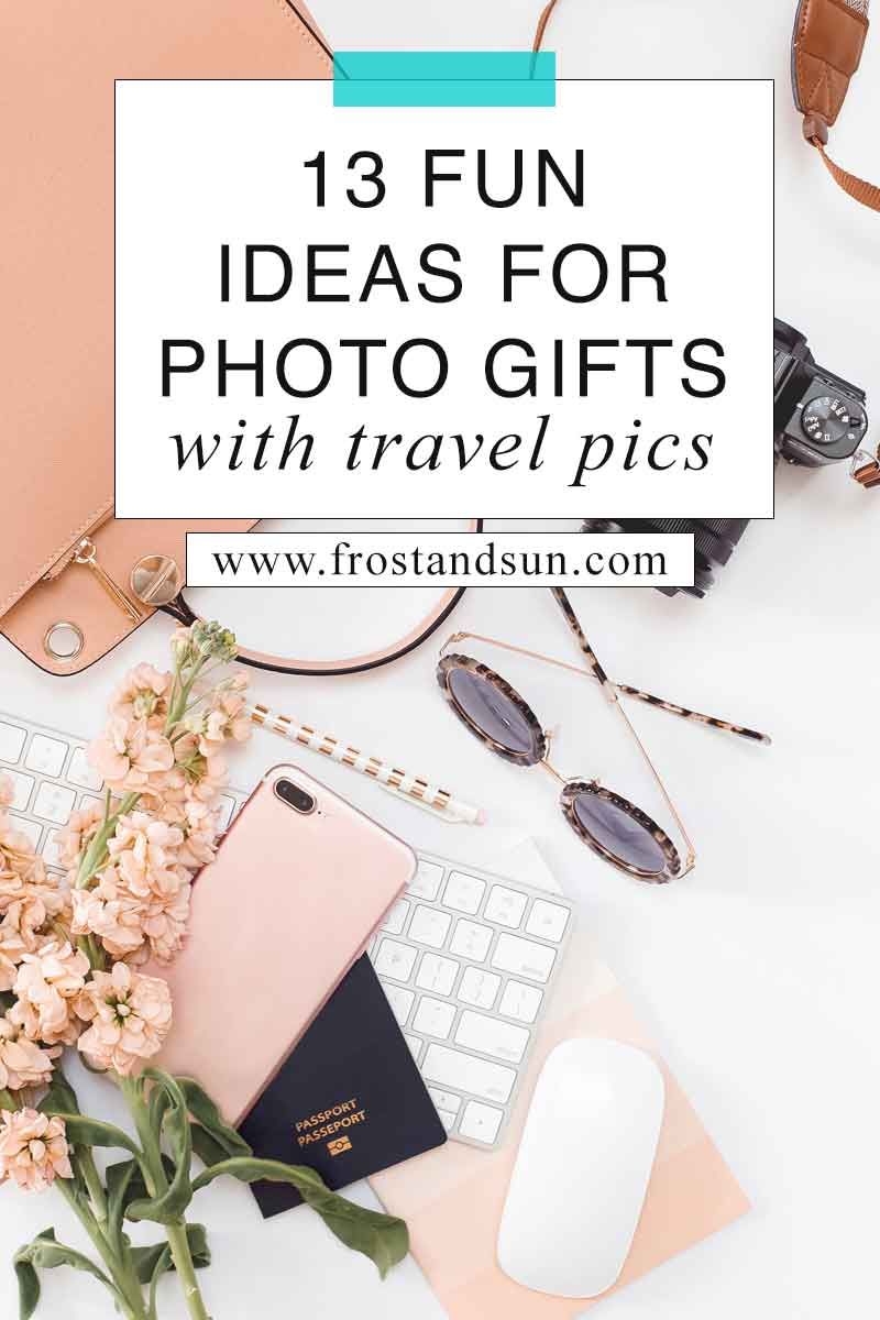 Check out this post for tips on fun photo gifts and where to make them. #photogifts #giftguides