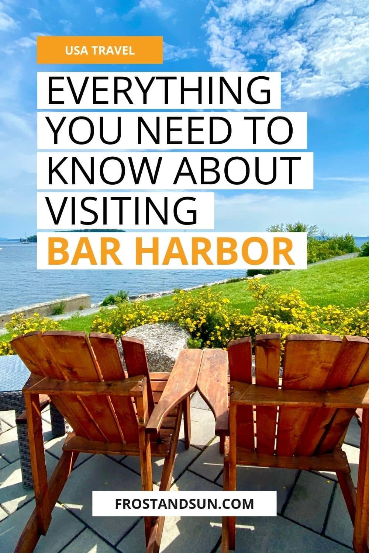 Bar Harbor Travel Guide