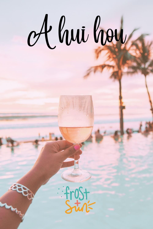 Photo of a woman in a yellow bikini snorkeling off the coast of a Hawaiian island.