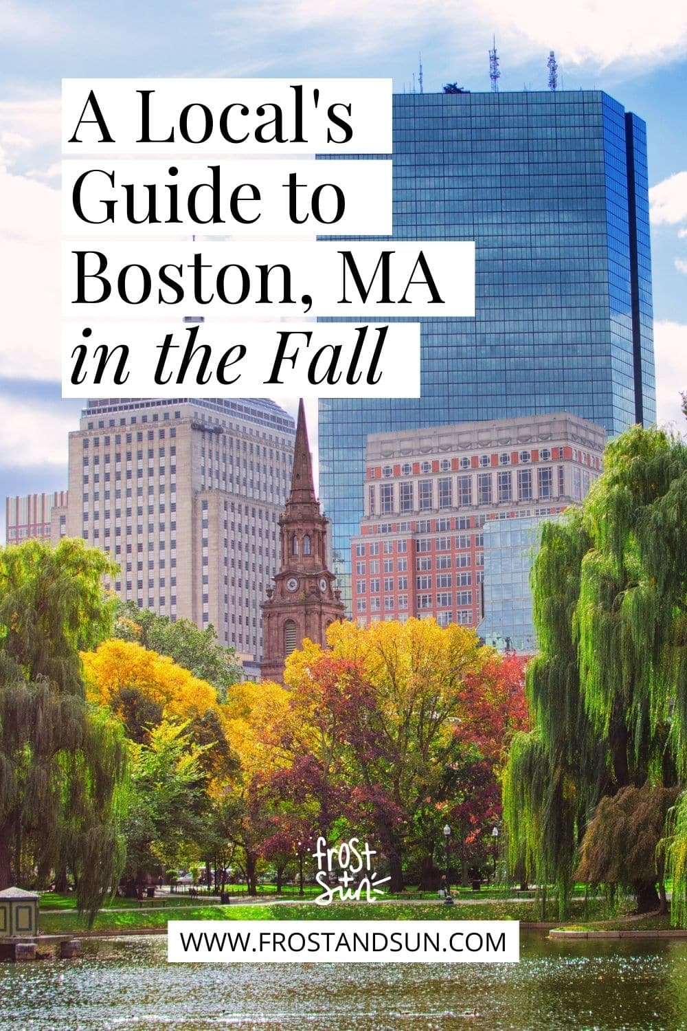 A Local\'s Guide to Boston in the Fall