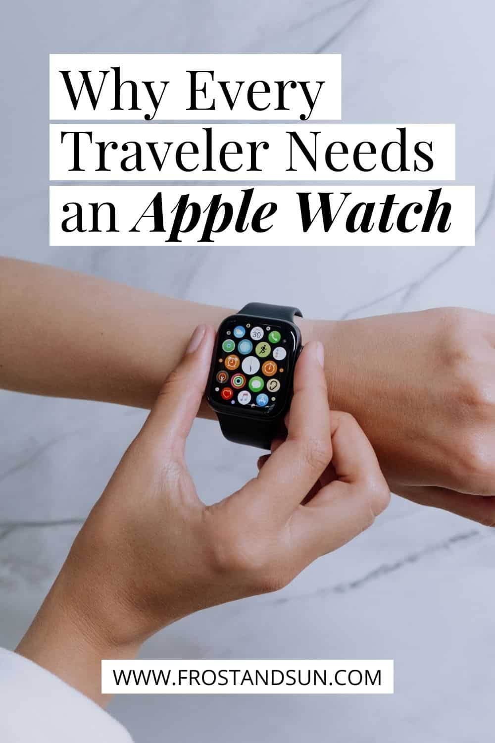 Is the Apple Watch worth it? YES, especially if you travel.