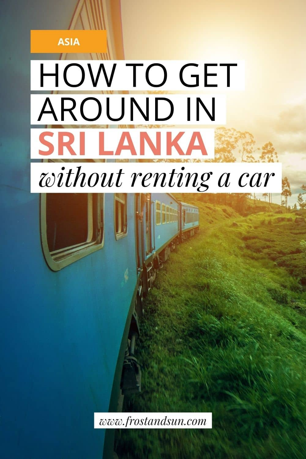Transportation in Sri Lanka Without Renting a Car