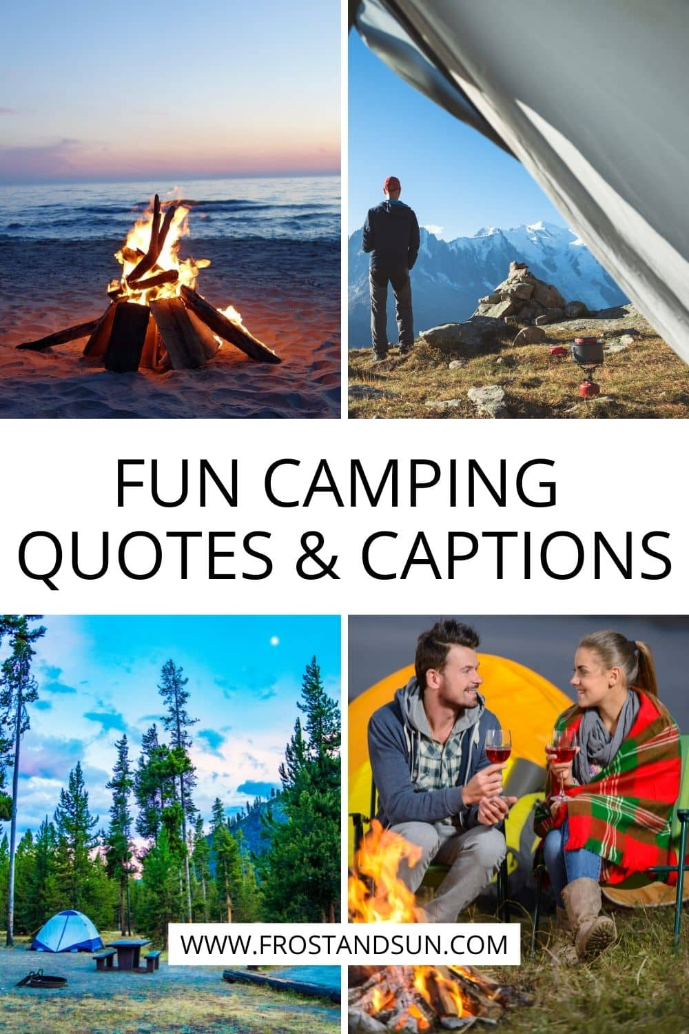 Fun Camping Quotes & Captions for Instagram