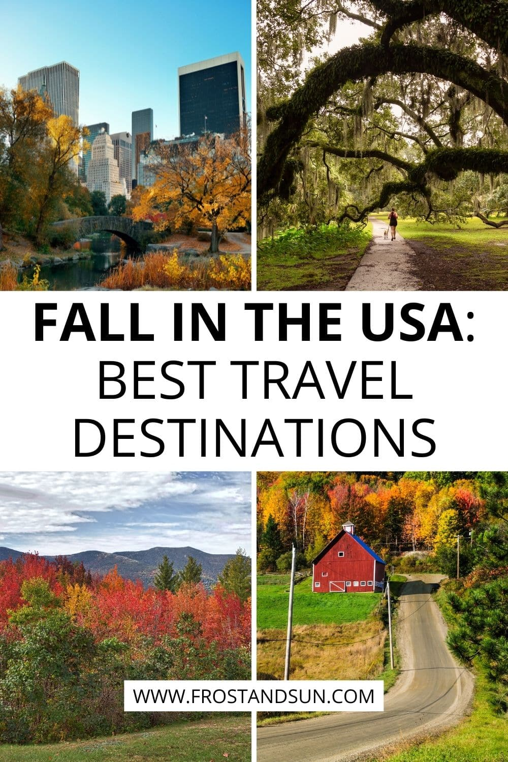 Fall in the USA: Best Places to Visit